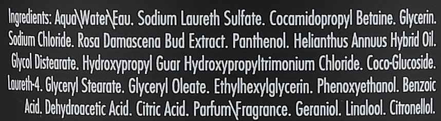 Beruhigendes Shampoo mit Rosenöl und Panthenol - Gosh Rose Oil Shampoo — Bild N4