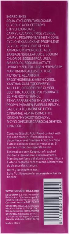 Anti-Aging Creme Gel für Mischhaut - SesDerma Laboratories Acglicolic Classic Forte Moisturizing Gel Cream — Bild N3