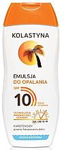 Düfte, Parfümerie und Kosmetik Sonnenschutzlotion SPF 10 - Kolastyna
