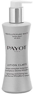 Klärende Pflegelotion für das Gesicht mit einem Derma-WhiteBerry-Komplex - Payot Lotion Clarte Stimulating Toner — Bild N1