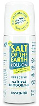 Düfte, Parfümerie und Kosmetik Deo Roll-on - Salt of the Earth Effective Unsented Roll-On Deo