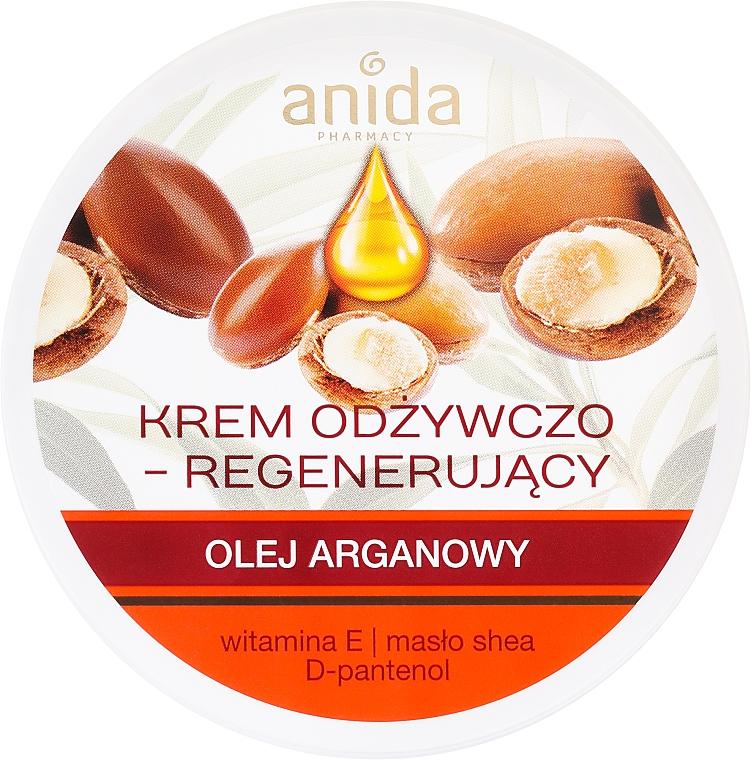 Pflegende Gesichtscreme mit Arganöl und Vitamin E - Anida Pharmacy Argan Oil Nourishing Cream