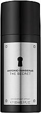 Düfte, Parfümerie und Kosmetik Antonio Banderas The Secret - Deospray