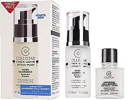 Düfte, Parfümerie und Kosmetik Set - Collistar Linea Uomo Acido Ialuronico (ser/30ml + a/sh/balm/15ml)