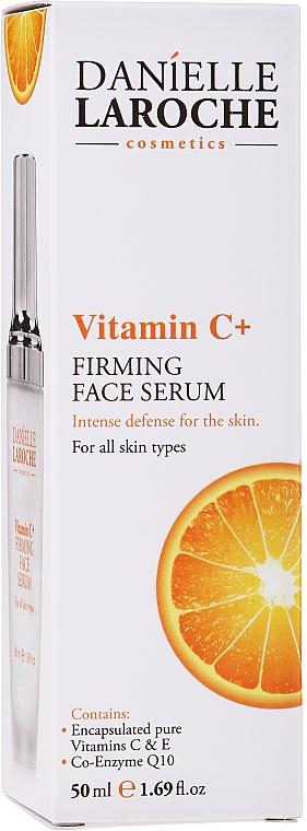 Anti-Aging Gesichtsserum mit Vitamin C und E und Coenzym Q10 - Danielle Laroche Cosmetics Firming Face Serum Vitamin C+