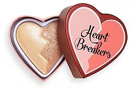 Düfte, Parfümerie und Kosmetik Gesichtshighlighter - I Heart Revolution Heart Breakers Powder Highlighter