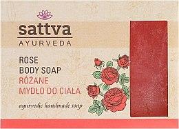 Düfte, Parfümerie und Kosmetik Sanfte Glycerinseife für den Körper Rose - Sattva Hand Made Soap Rose