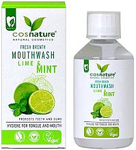 Düfte, Parfümerie und Kosmetik Mundwasser mit Limette und Minze - Cosnature