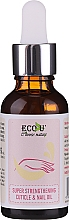 Düfte, Parfümerie und Kosmetik Intensiv stärkendes Nagel- und Nagelhautöl - Eco U Super Strengthening Cuticle & Nail Oil