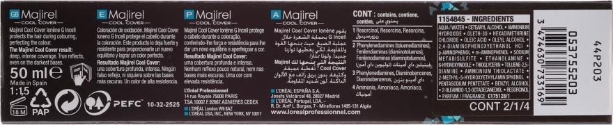 Permanente Haarfarbe - L'Oreal Professionnel Majirel Cool Cover — Bild N3