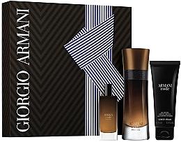 Düfte, Parfümerie und Kosmetik Giorgio Armani Code Profumo - Duftset (Eau de Parfum 60ml + Eau de Parfum 15ml + Duschgel 75ml)