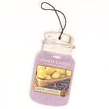 """Düfte, Parfümerie und Kosmetik Duftkerze im Glas """"Zitrone und Lavendel"""" - Yankee Candle Fluffy Lemon Lavender 2D Jar Classic"""