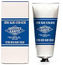 Düfte, Parfümerie und Kosmetik Reichhaltige Handcreme mit Scheabutter - Institut Karite Milk Cream Shea Hand Cream