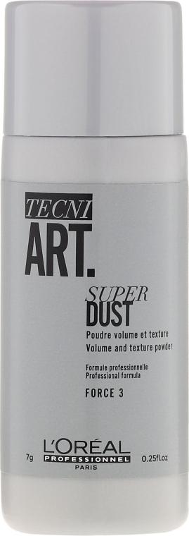 Mattierender Haarpuder für mehr Volumen - L'Oreal Professionnel Tecni.Art Super Dust Force 3