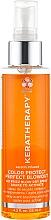 Düfte, Parfümerie und Kosmetik Schwereloses Anti-Frizz Stylingspray für das Haar mit Sheabutter, Keratin, Oliven-, Himbeersamen- und Avocadoöl - Keratherapy Keratin Infused Color Protect Perfect Blowout