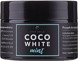 Düfte, Parfümerie und Kosmetik Aufhellendes Pulver mit Minzgeschmack - Star Smile CoCo White Mint