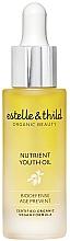 Düfte, Parfümerie und Kosmetik Nährendes und verjüngendes Gesichtsöl mit Aprikosenkern-, Jojoba- und Hagebuttenöl für mehr Hautelastizität - Estelle & Thild BioDefense Nutrient Youth Oil