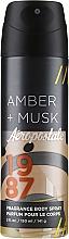 Düfte, Parfümerie und Kosmetik Parfümiertes Deospray - Aeropostale Amber + Musk Fragrance Body Spray