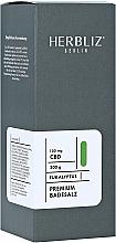 Düfte, Parfümerie und Kosmetik Badesalz mit Eukalyptus und Hanfextrakt - Herbliz CBD