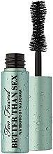 Düfte, Parfümerie und Kosmetik Wasserfeste Mascara Mini - Too Faced Better Than Sex Waterproof Mascara Deluxe Mini