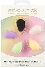 Düfte, Parfümerie und Kosmetik Schminkschwamm-Set 5 St. - Makeup Revolution Mini Pro Colour Correct Sponge Set