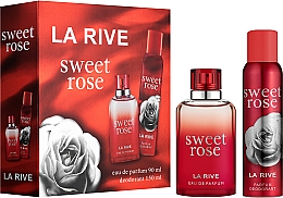 Düfte, Parfümerie und Kosmetik La Rive Sweet Rose - Duftset (Eau de Parfum 90ml + Deospray 150ml)