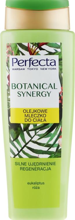 Straffende und regenerierende Körpermilch mit Eukalyptus und Rose - Perfecta Botanical Synergy