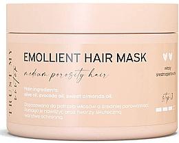 Düfte, Parfümerie und Kosmetik Aufweichende Maske mit Oliven-, Avocado- und Süßmandelöl für mittelporöses Haar - Trust My Sister Medium Porosity Hair Emollient Mask