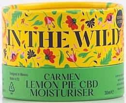 Düfte, Parfümerie und Kosmetik Feuchtigkeitsspendende Gesichtscreme mit Canabidiol und Zitronenschalenextrakt für empfindliche und Problemhaut - In The Wild Carmen Lemon Pie CBD Moisturiser