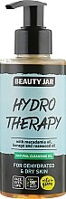 Düfte, Parfümerie und Kosmetik Gesichtsreinigungsöl für trockene Haut mit Macadamiaöl - Beauty Jar Natural Cleansing Oil Hydro Therapy