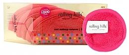 Düfte, Parfümerie und Kosmetik Wiederverwendbarer Schwamm zum Abschminken 3 St. mini pink - Rolling Hills Mini Makeup Remover Pink