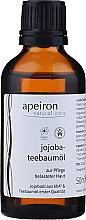 Düfte, Parfümerie und Kosmetik Jojoba- und Teebaumöl zur Pflege belasteter Haut - Apeiron