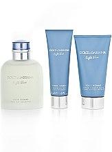 Dolce & Gabbana Light Blue Pour Homme - Duftset (Eau de Toilette 125ml + Duschgel 50ml + After Shave Balsam 75ml) — Bild N5