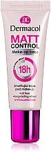 Düfte, Parfümerie und Kosmetik Mattierende Make-Up Base - Dermacol Matt Control MakeUp Base 18h