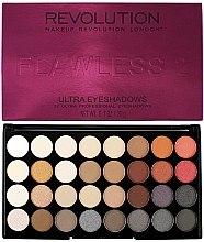 Düfte, Parfümerie und Kosmetik Lidschattenpalette - Makeup Revolution Ultra 32 Shade Palette Flawless 2