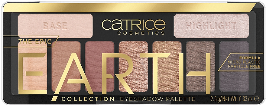 Lidschatten-Palette - Catrice The Epic Earth Collection Eyeshadow Palette