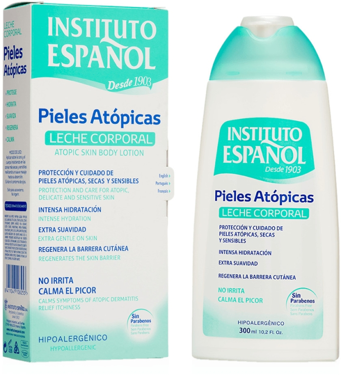 Körperlotion für atopische Haut - Instituto Espanol Atopic Skin Body Milk