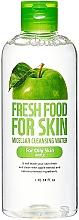 Düfte, Parfümerie und Kosmetik Mizellenwasser für fettige Haut mit Apfel - Fresh Food For Skin Apple Micellar Cleansing Water