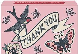 Düfte, Parfümerie und Kosmetik Natürliche Seife Thank You mit Wildrosenduft - Bath House Barefoot & Beautiful Hand Soap Wild Rose