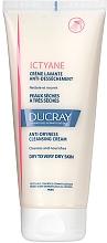 Düfte, Parfümerie und Kosmetik Nährende und feuchtigkeitsspendende Duschcreme mit Glycerin und Saflorsamenöl für trockene bis sehr trockene Haut - Ducray Ictyane Anti-Dryness Cleansing Cream Face & Body