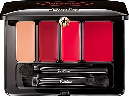 Düfte, Parfümerie und Kosmetik Konturierende Lippenstiftpalette - Guerlain KissKiss From Paris Lip Contouring Palette