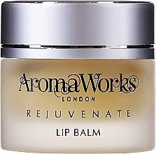 Düfte, Parfümerie und Kosmetik Feuchtigkeitsspendender schützender und verjüngender Lippenbalsam - AromaWorks Rejuvenate Lip Balm