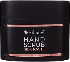Düfte, Parfümerie und Kosmetik Pasta peelingująca do rąk - Silcare Hand Scrub Silk Paste