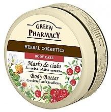 """Düfte, Parfümerie und Kosmetik Körperbutter """"Preiselbeere und Brombeere"""" - Green Pharmacy Body Butter Cranberry and Cloudberry"""