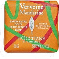 Düfte, Parfümerie und Kosmetik L'Occitane Verveine Mandarine - Extra sanfte Seife für Körper und Hände mit Bio Verbene-Extrakt und ätherischen Zitrusölen