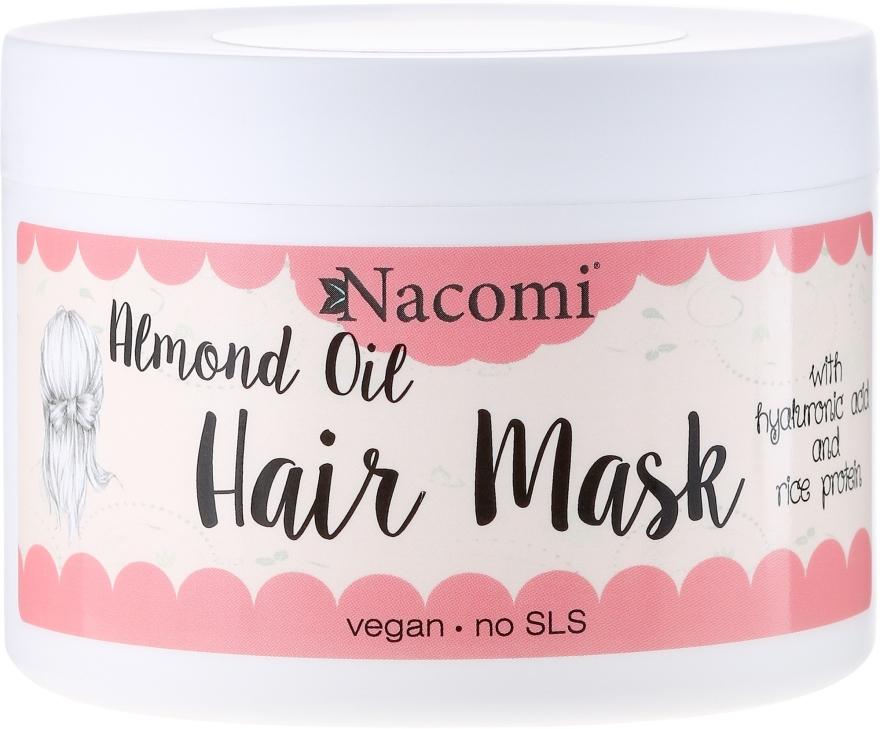 Haarmaske - Nacomi Almond Oil Hair Mask — Bild N1