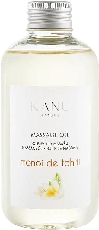 Olejek do masażu Monoi de Tahiti - Kanu Nature Monoi de Tahiti Massage Oil