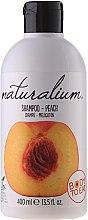 Düfte, Parfümerie und Kosmetik Shampoo und Haarspülung mit Pfirsich - Naturalium Shampoo And Conditioner Peach