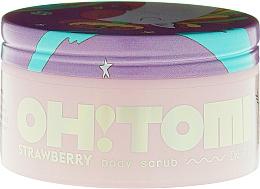 Düfte, Parfümerie und Kosmetik Körperpeeling mit Erdbeerduft - Oh!Tomi Dreams Body Scrub Strawberry