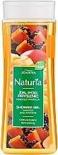 "Düfte, Parfümerie und Kosmetik Duschgel ""Mango & Papaya"" - Joanna Naturia Mango and Papaya Shower Gel"